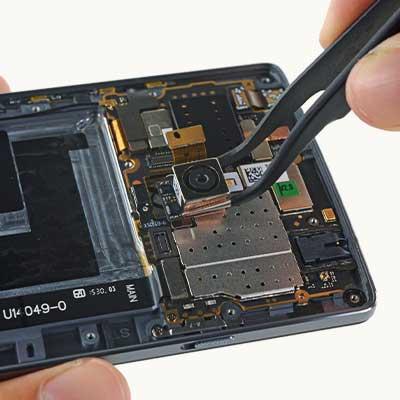 Замена камеры смартфона