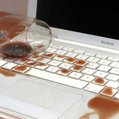 Восстановление ноутбука после попадания воды