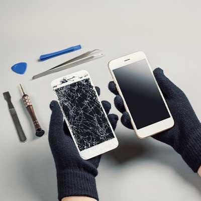 Замена тачскрина смартфона